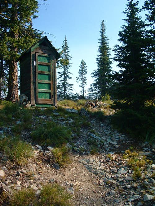 Boulder Point Outhouse