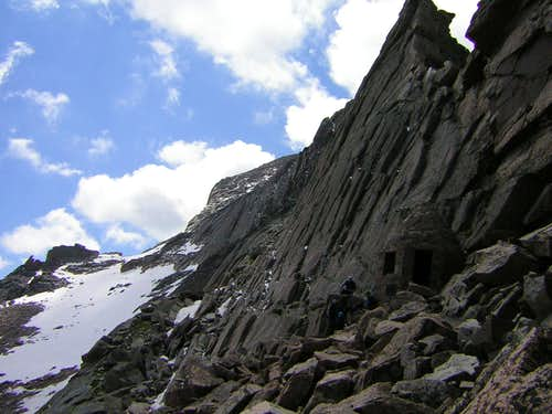 Longs Peak Attempt