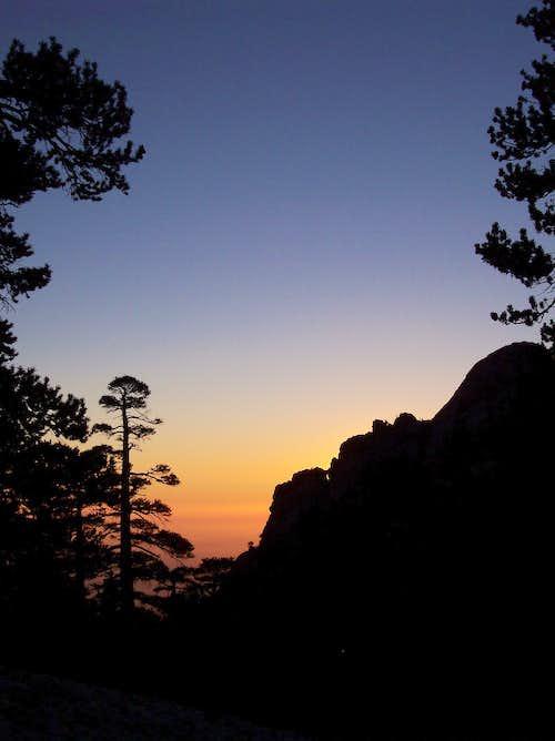 Sunset on San Jacinto