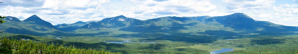 Katahdin Group from Sentinel Mountain