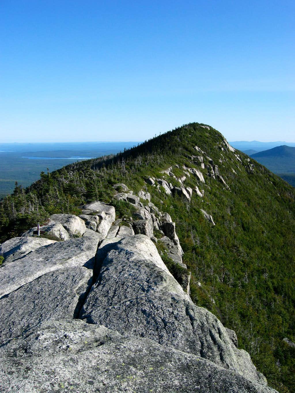 North Peak from South Peak