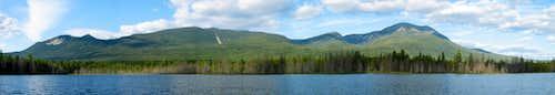 Katahdin Group from Grassy Pond