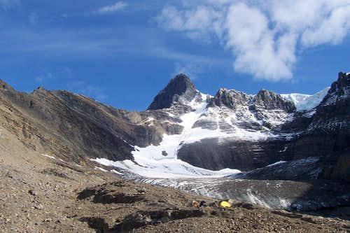 Bivy Sites below South Glacier
