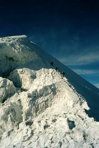 Final ridge to Iliniza Sur summit