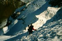 Descending from Iliniza Sur