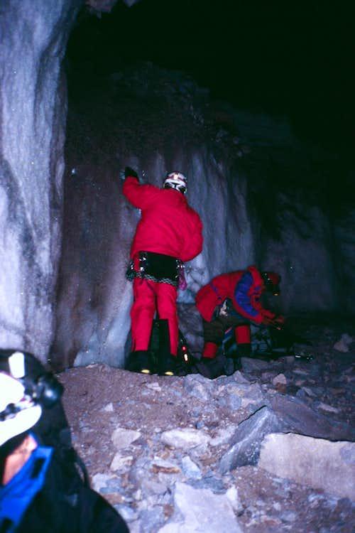 Base of Chimo' Glacier