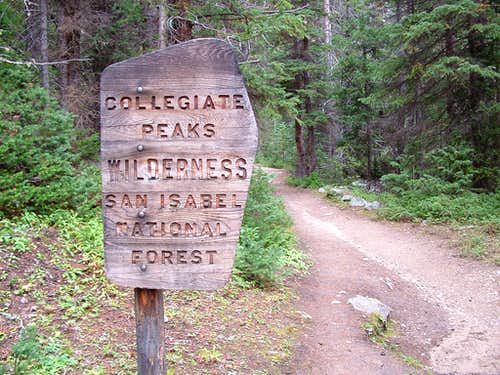 Collegiate Peaks Wilderness