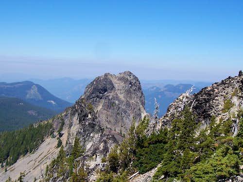 Mt yoran from summit ridge.