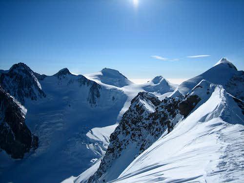 Monte Rosa Traverse - Breithorn to Dufour