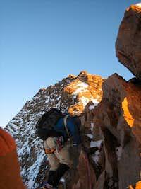 Dufour SE ridge