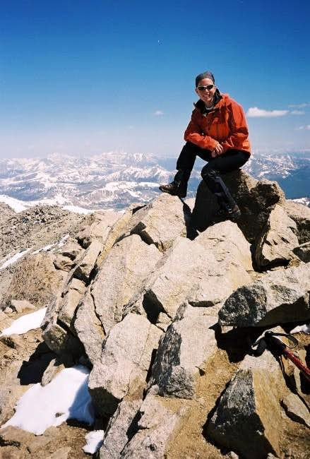 June 15, 2003. The summit of...