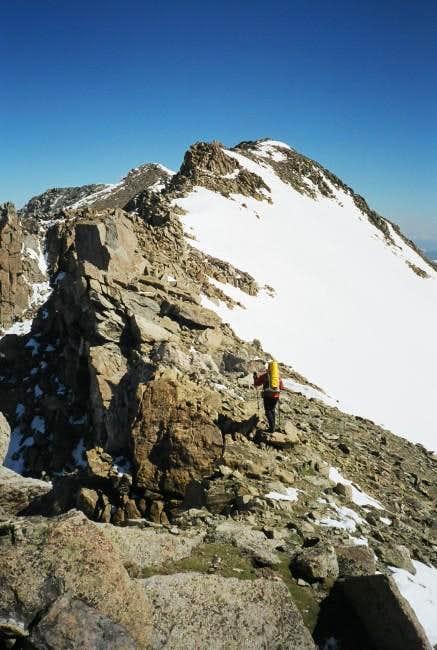 June 15, 2003. After climbing...