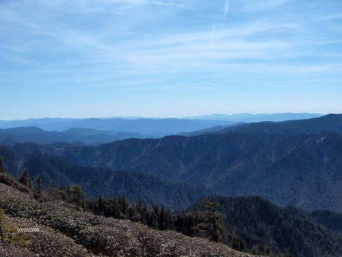 View from LeConte