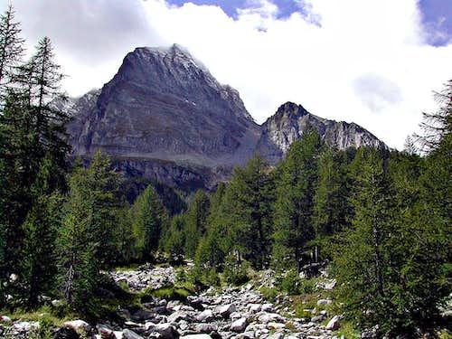 Monte Leone from Alpe Veglia