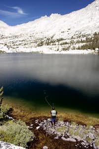 Bountiful High Sierra Lake