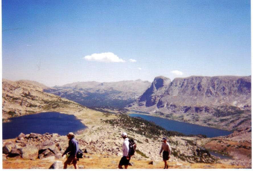 Macon (10771') and Washakie (10363') Lakes