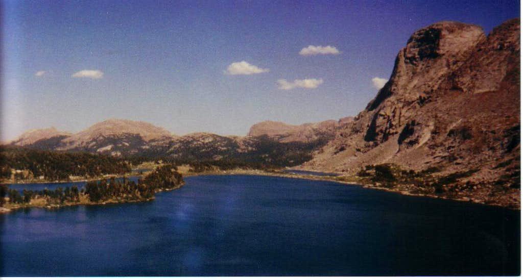 Washakie Lake (10363')