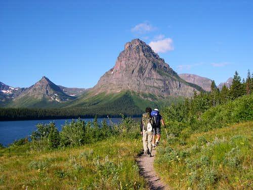 Sinopah Mountain
