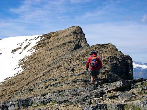 Rising Wolf Mountain, South Ridge