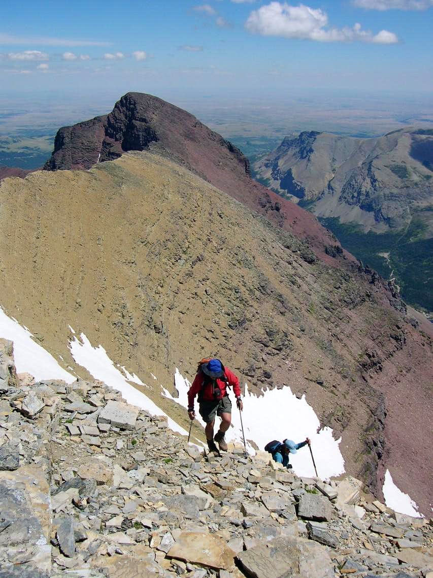 Rising Wolf Mountain, South Face Route