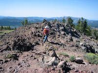 Andesite Peak Summit Area