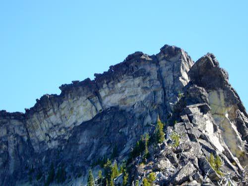 SW Ridge Crux