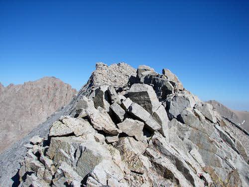 Summit ridge at 4:30