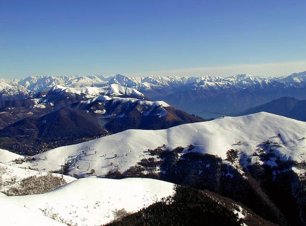 Monte Generoso panorama....