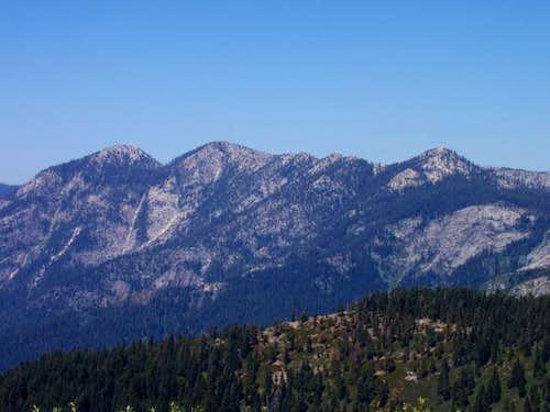Maggie Mountain from Jordan Peak
