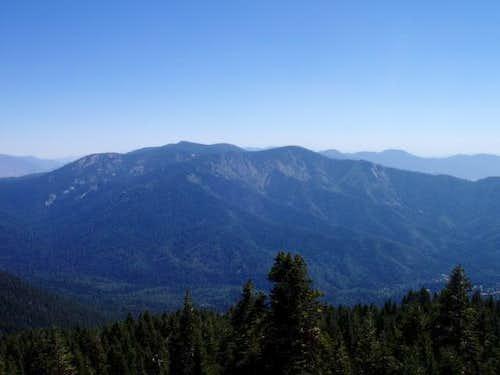 Slate Mtn and Mule Peak