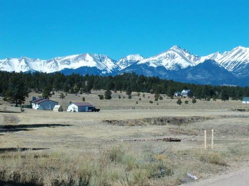 Sangre De Cristo Mountains, Colorado