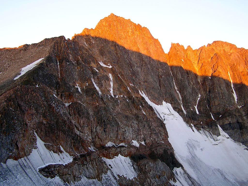 Dawn on Granite