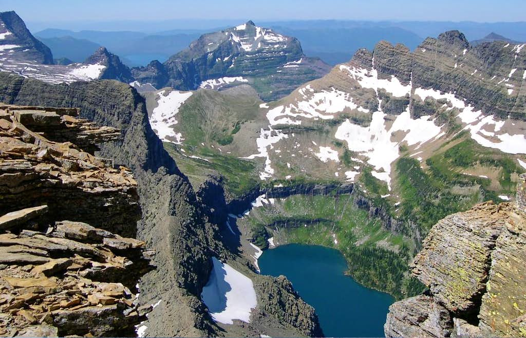 Hidden Lake, Reynolds Mountain
