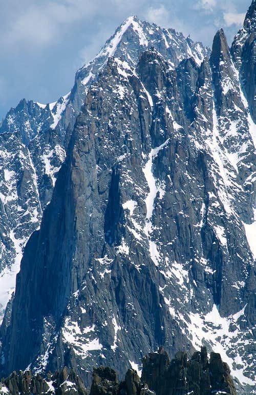 .Chamonix, Mont Blanc Range 2003 (2)