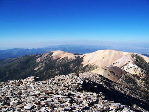 Gold Mountain from Mount Belknap