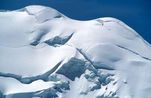 Mont Blanc: Les bosses