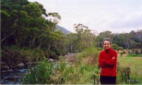 The Ngarigo camp site,...