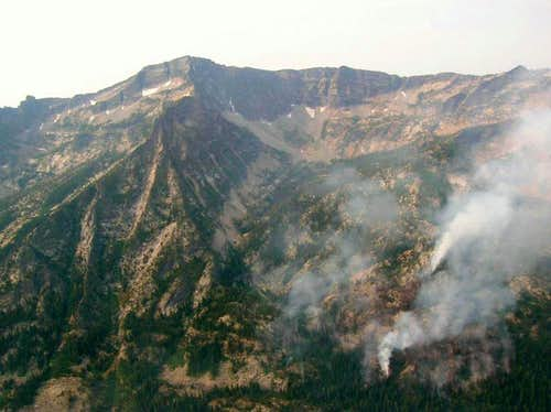 Rock of the Lakes Fire
