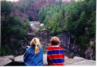 Linville Falls overlook