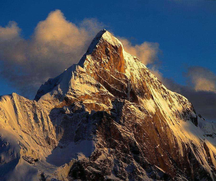 Northwest Face of the highest peak 6250m