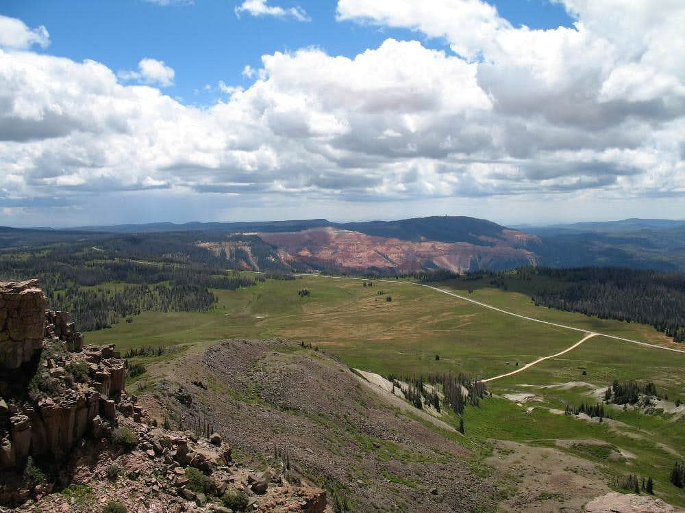 From Brian Head Peak...