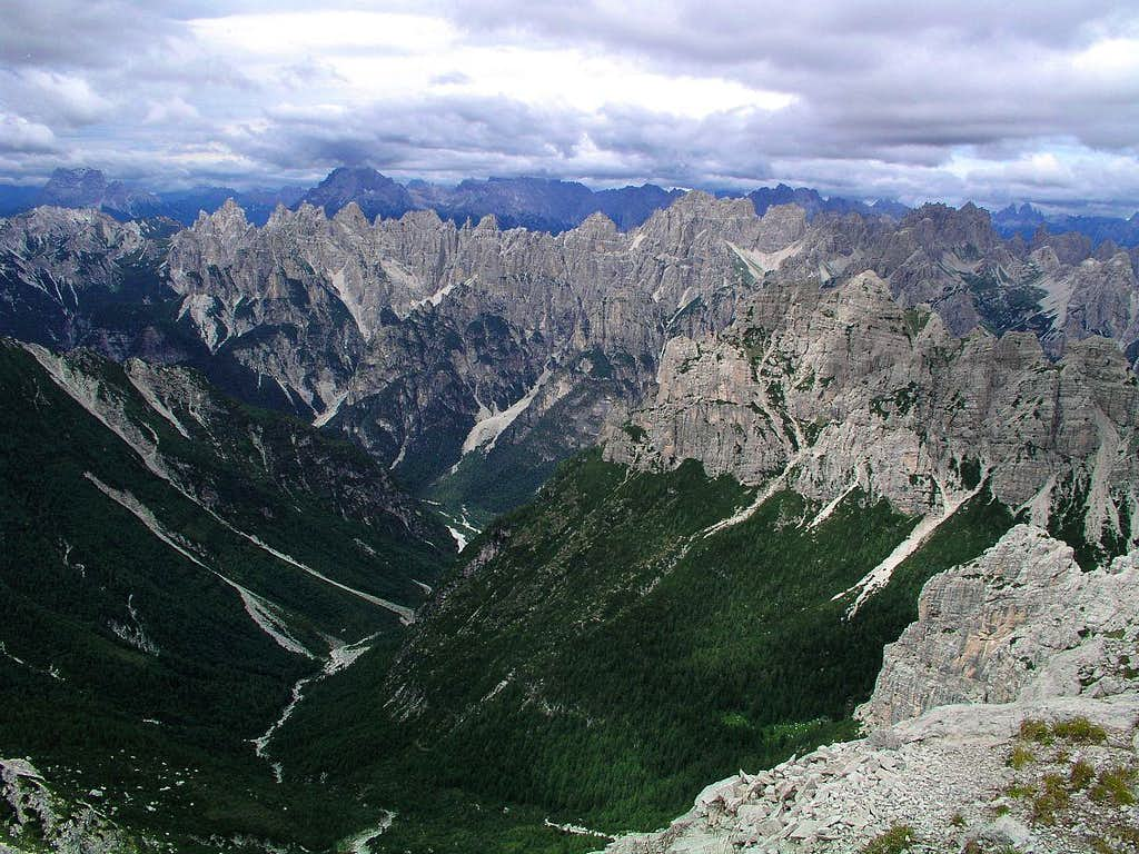 Monte Pramaggiore Summit View