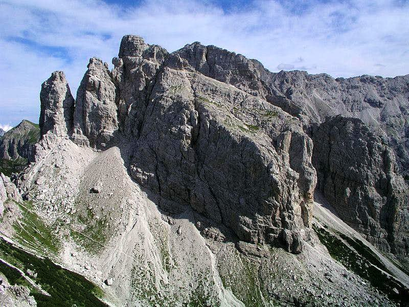 Monte Pramaggiore from the North