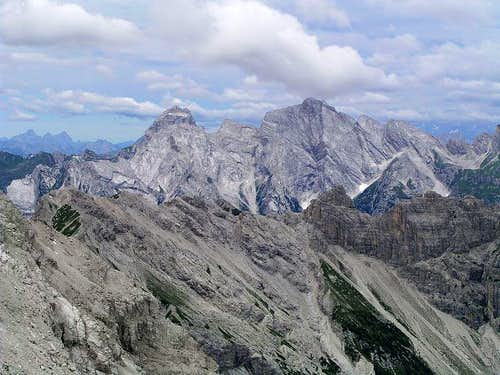 Monte Duranno and Cima dei Preti