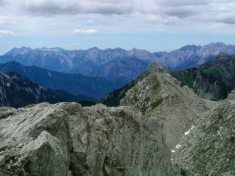 Monte Cavallo and Col Nudo