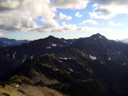 View west from Lost Peak