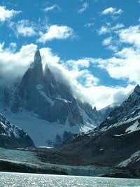 Spire-shaped Mountains