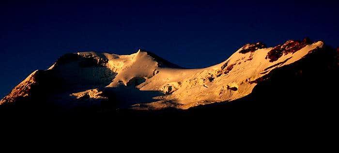 Sunrise on Mount Athabasca