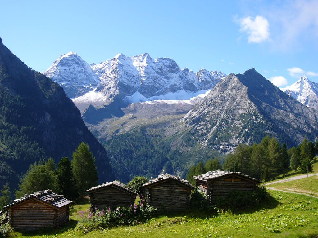 Rieserferner's mountains