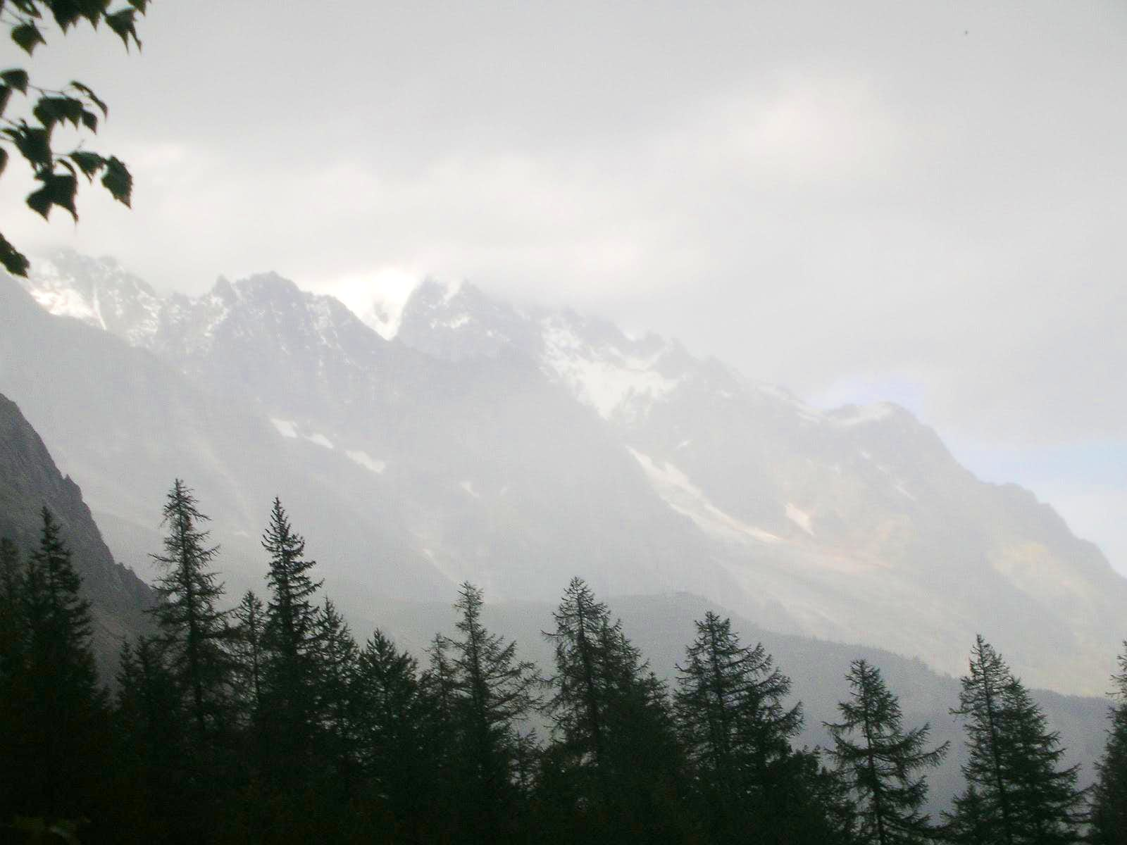 How a Storm Comes to Mt. Blanc